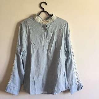 Babyblue shirt