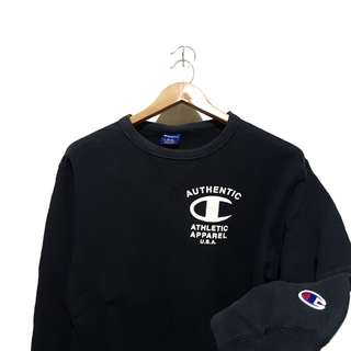 Sweater sweatshirt crewneck champion big c logo