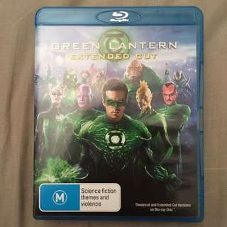BluRay DVD Green Lantern