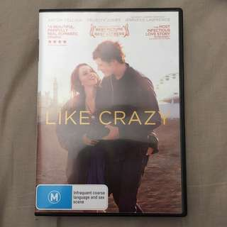 DVD Like Crazy