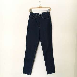 American Apparel - High-waist Mom Jeans