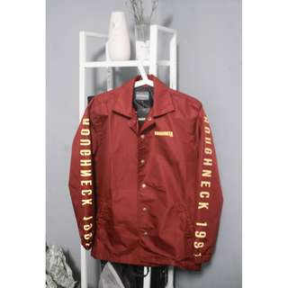 RE-PRICE ROUGHNECK COCH JACKET (MAROON) NEW