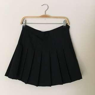 American Apparel - Black Tennis Skirt