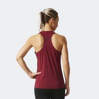 Adidas Climachill Running Striped Tank Top XS