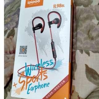 IPIPOO iL98BL BLUETOOTH EARPHONE SPORT EAR HANGING