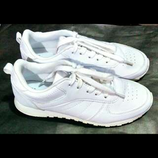 Authentic Atmosphere White Rubber Shoes