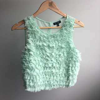Mint Green Topshop Top
