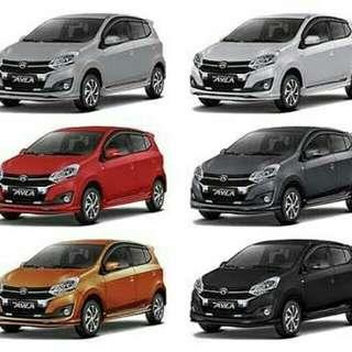 Daihatsu new ayla 1.2 dan 1.0 banjir hadiah