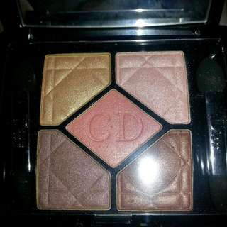 Christian Dior 5color eyeshadow palette