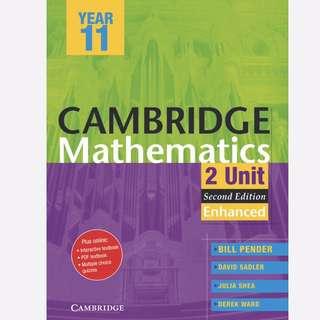 Cambridge Mathematics 2 Unit Year 11 Second Edition