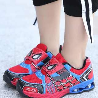 Spiderman antiskid shoe