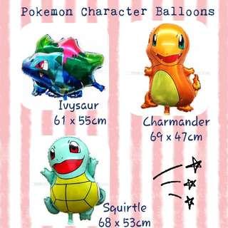Pokemon Character Balloon