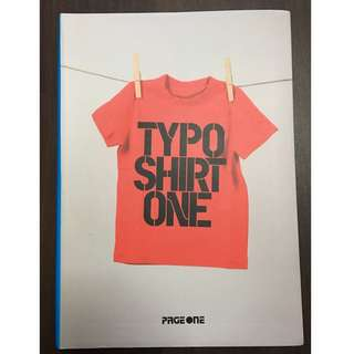 Typoshirt One - Tshirt Designs for Graphic Designers - Page One