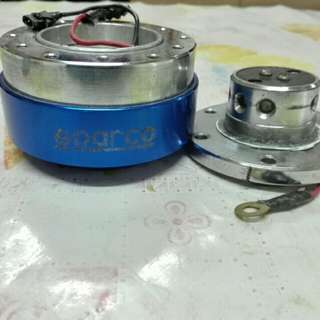 Sterring hub quick release sparco