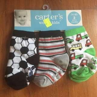 Baby Socks - 3 pairs (74-80)