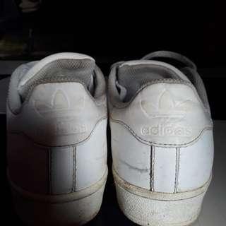 Adidas superstars original full white