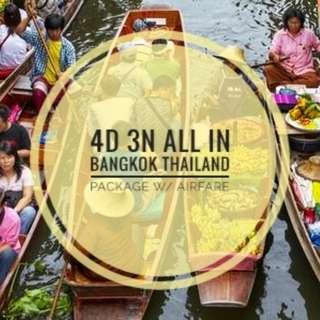 4d3n Bangkok Thailand ALL IN package w/ airfare