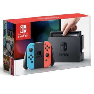 Nintendo Switch Console Grey/Neon