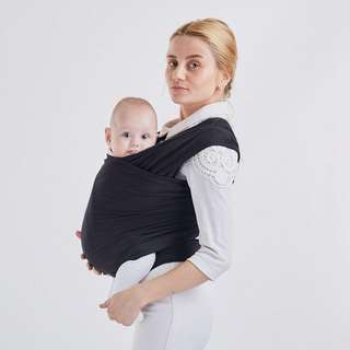 🔥TIME SALE🔥 Organic Cotton Baby Wrap with Carrier Bag