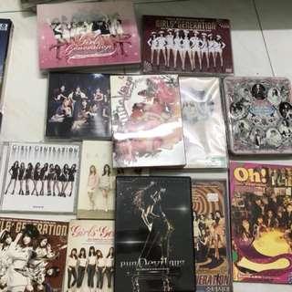 SNSD CDs