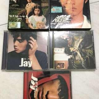Jay Chou old CDs