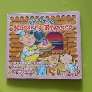My First Nursery Rhymes CD