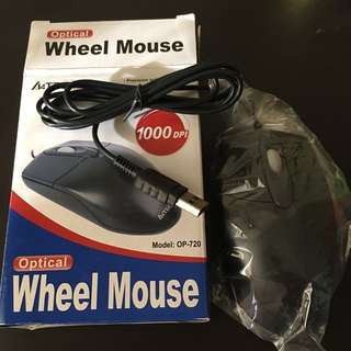 A4tech Optical mouse (Black)