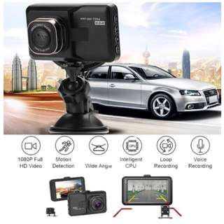 Car Camera - Dual Lens Front & Rear (reverse / back up)