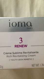 Ioma revitalising cream