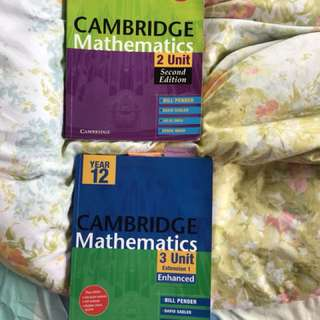 Cambridge MATHS HSC YEAR 11&12 textbooks