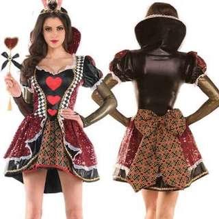 Queen Of Hearts Women's Costume