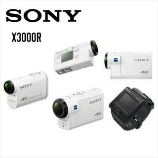 Brand New! Free Delivery. Full Local Warranty! Freebies Included. Sony X3000R Action Camera