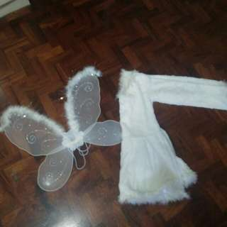 Angel Costume/Whit dress(Repriced)