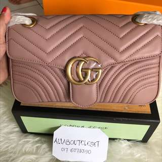 Customer's purchased, Gucci Marmont medium size