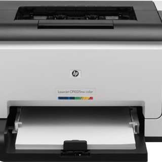 Refurbished HP Color Laser CP1025nw Printer w/Warranty 1 year