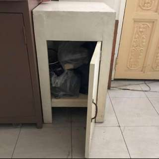 White Small Cabinet For Sale