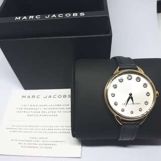 BNWT Beautiful Authentic Iconic Marc Jacobs Betty Genuine Crystal Woman's Watch