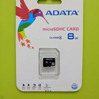 8gn microsd card