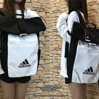 Adidas backpack size : 22*16 expanded upto 24*18