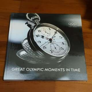 omega great Olympics moments in time speedmaster seamaster reference collectible novelty horology horlogerie swatch hardcover hardback book