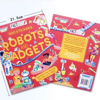 Discovery Kid Factivity Book - Robots and Gadgets - GFR541
