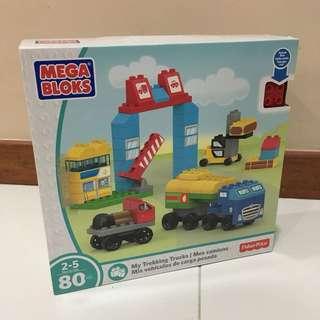 Mega Bloks My Trekking Trucks