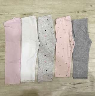H&M 3/4 Legging = RM40 for 5 pieces