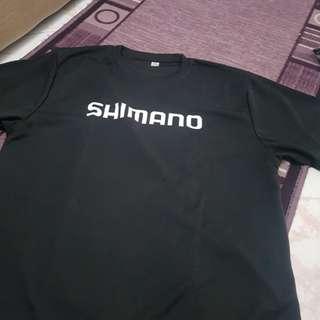 Shimano drifit size XL no plastic but new shirt not worn before