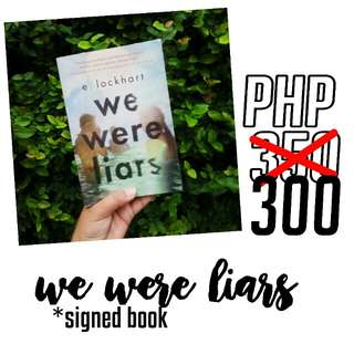 REPRICED: We were liars
