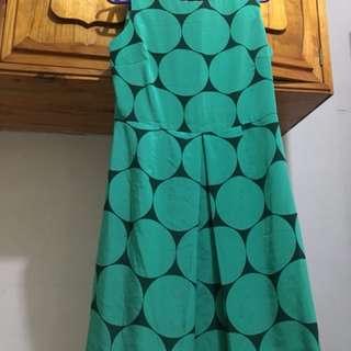 Polkadotted dress