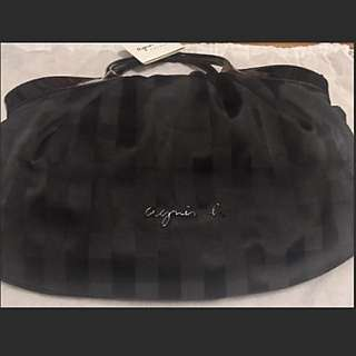 agnes b checker hand/shoulder bag (100% New with tag, from Japan)