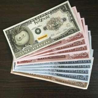 Kidzania Money Kidzos