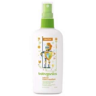 Babyganics Natural Insect Repellent 6oz 177ml
