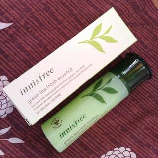 Innsifree Green Tea Fresh Essence Inisfree Innisfre